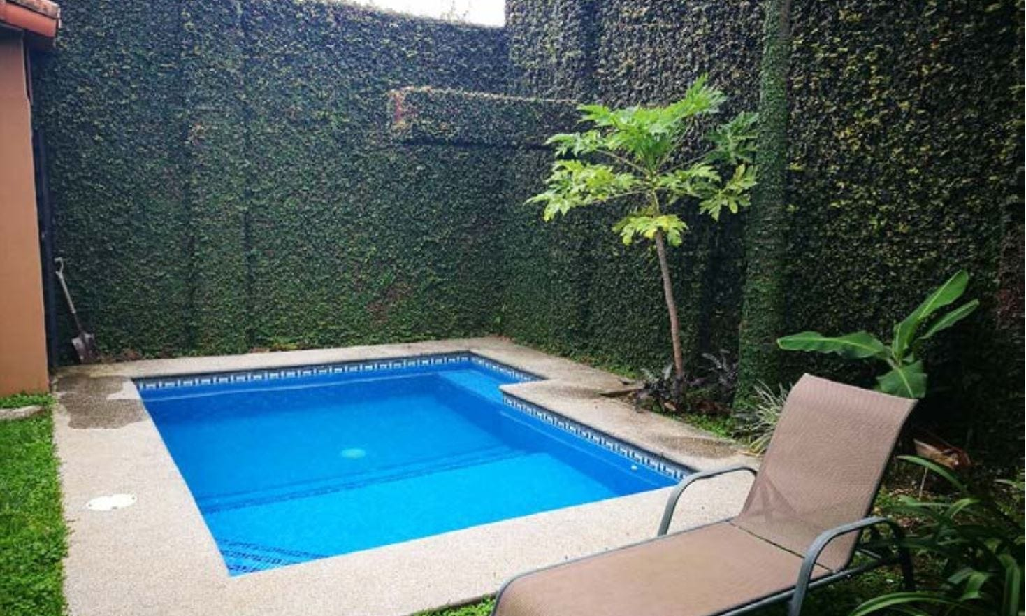 bella condo con piscina privada belen heredia real On piscinas prefabricadas en costa rica